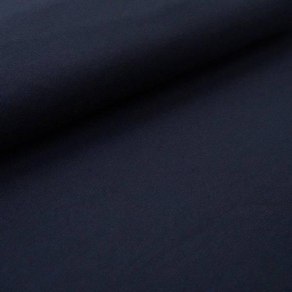 Bilde av Økologisk french terry, dark blue
