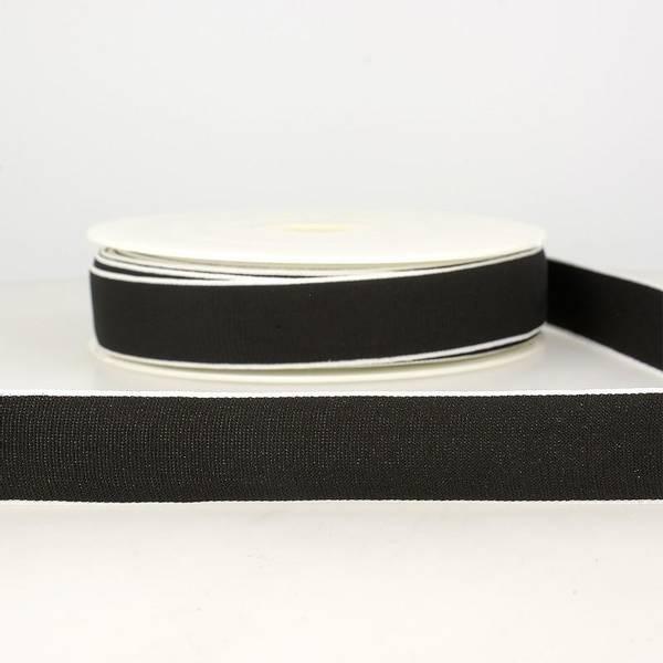Bilde av Elastisk bånd 2,5cm bredt, svart
