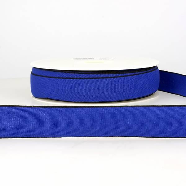 Bilde av Elastisk bånd 2,5cm bredt, blå
