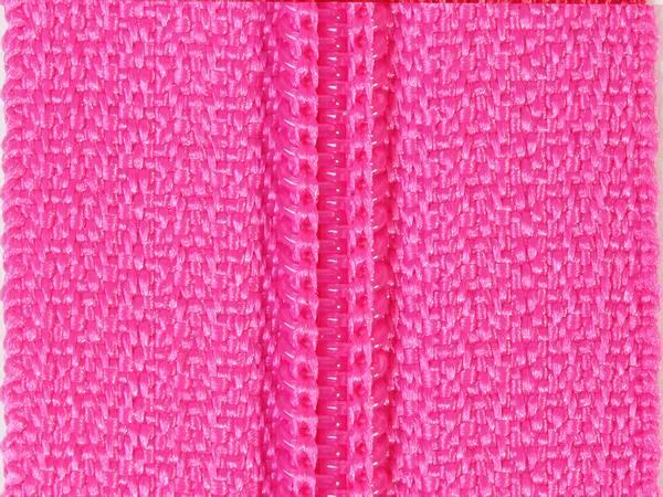 Bilde av 1 meter glidelås m. 4 glidere, rosa
