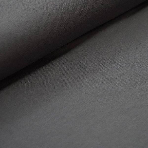 Bilde av Økologisk french terry, mørk grå