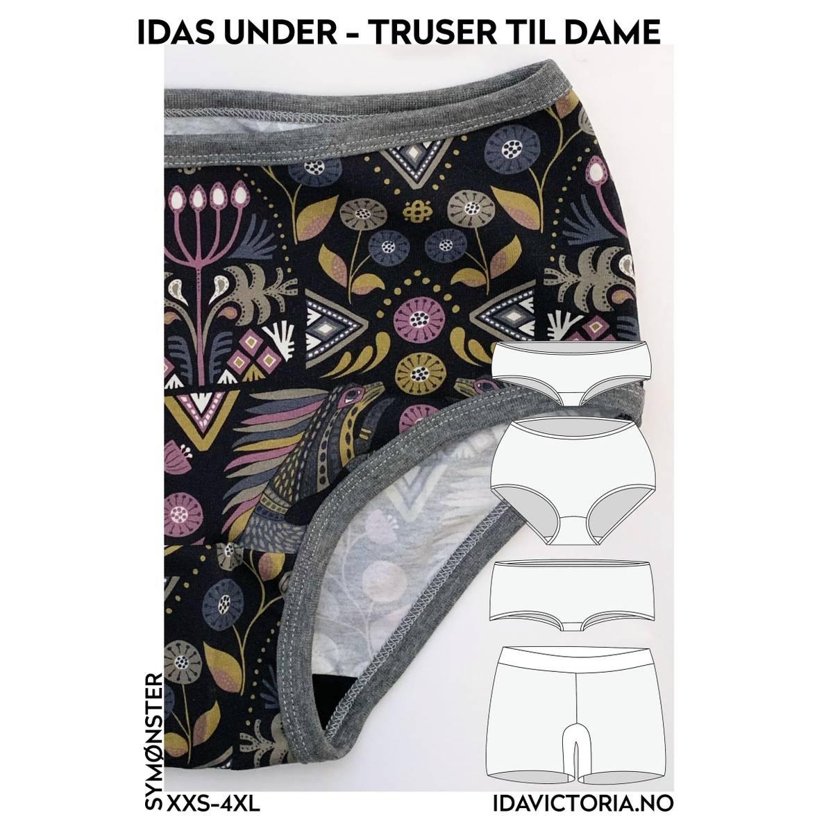 Ida Victoria, Idas under - truser til dame