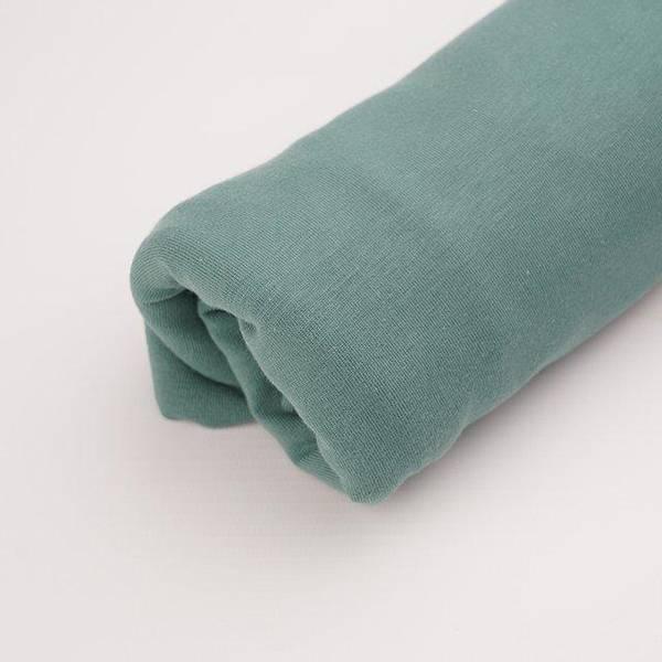 Bilde av Økologisk ribb, støvgrønn