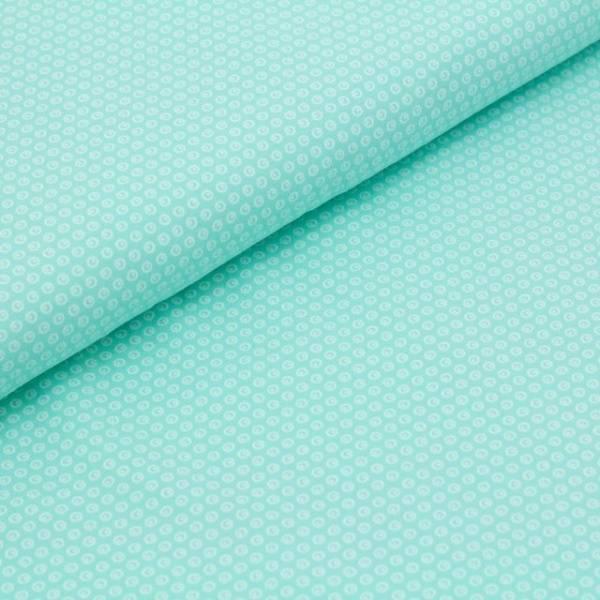 Bilde av Økologisk jersey, mint med sirkler