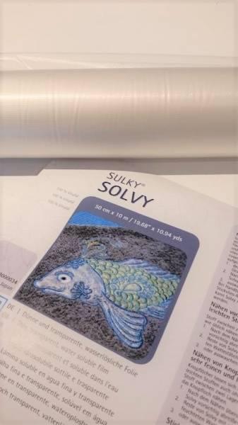 Bilde av Rull 10m. Sulky Solvy transparent og vannløselig